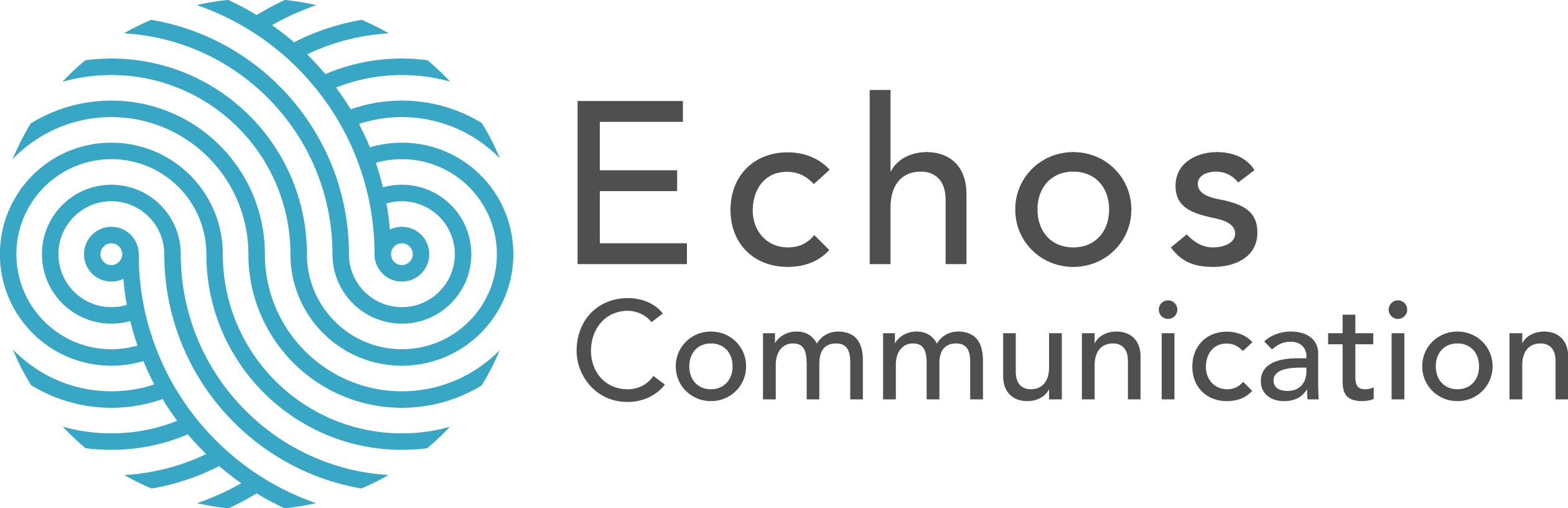 Logotype Echos Communication