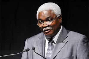 Mr Jean Pierre Elong Mbassi, secretairy general of Cities and Local United Governments of Africa